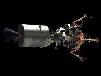 Apollo-13 CSM+LM