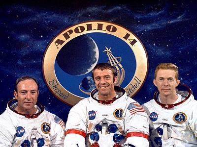 Apollo-14 crew