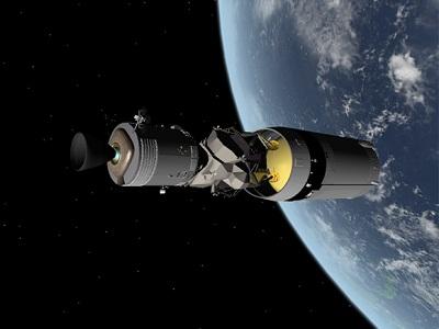Apollo-14 CSM+LM