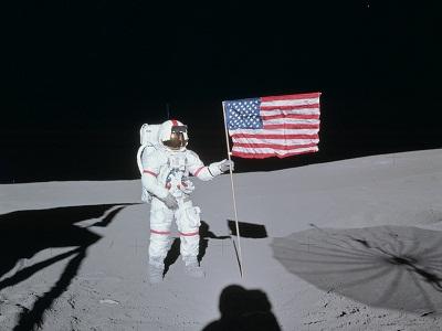 Apollo-14 EVA