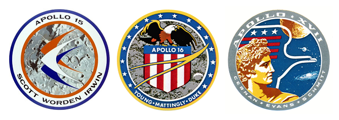 Apollo-15  Apollo-16  Apollo-17 patch