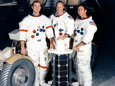 Apollo-15 crew