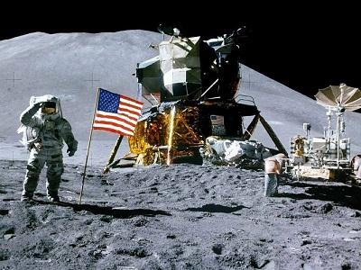 Apollo-15 EVA