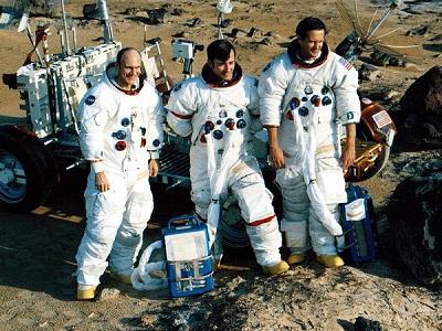 Apollo-16 crew
