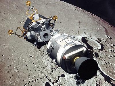 Apollo-16 CSM+LM
