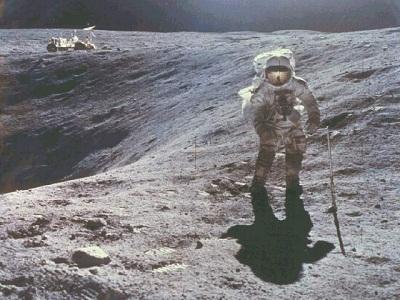 Apollo-16 EVA