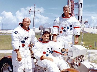 Apollo-17 crew