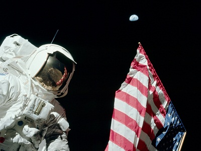 Apollo-17 EVA