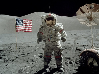 Apollo-17 EVA2