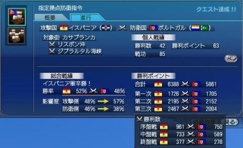 第46回大海戦 結果