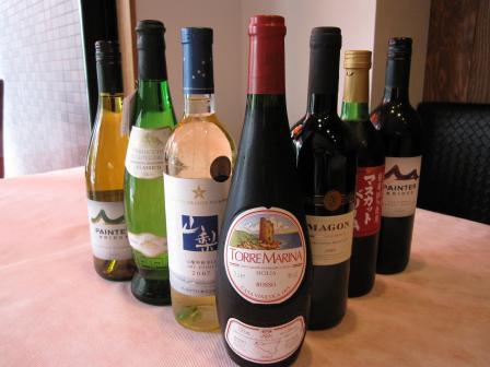 ワイン3500円の写真