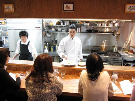 料理教室09.11.19