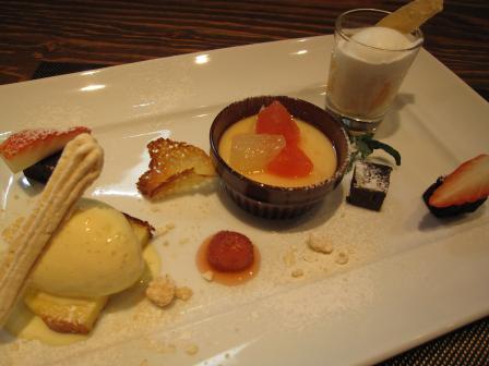 dessert assorti
