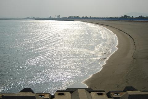 今日の海1