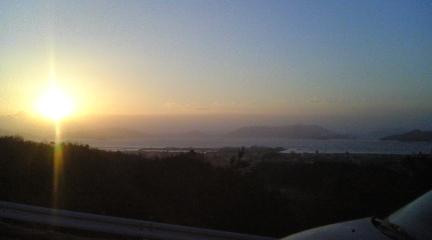 日の出のパーキング