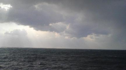 ふるさとの海だ~~~