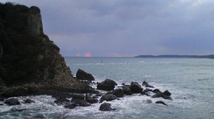 素敵な自然、角島