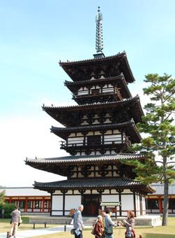 薬師寺の塔