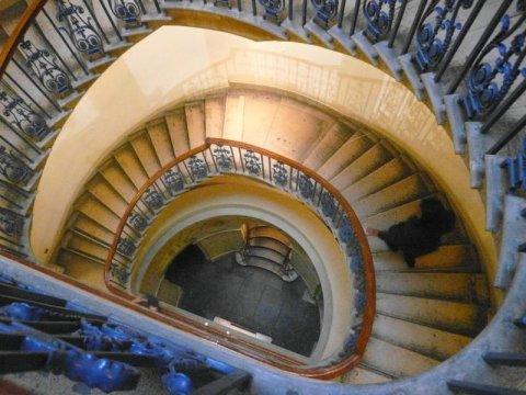 コートールドギャラリー・螺旋階段