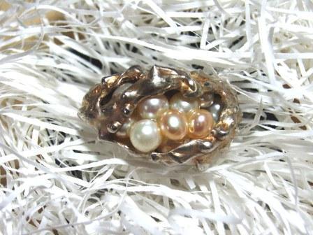 リング・真珠のhanakago