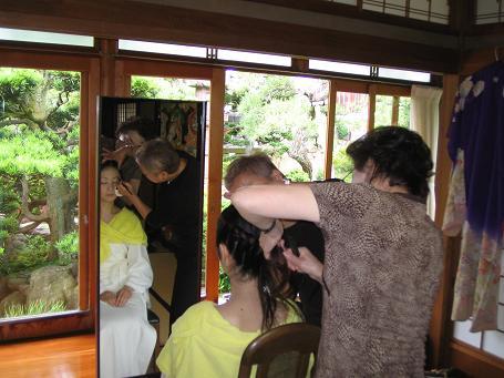 時代結婚式 002