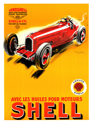 AF3125~Shell-1934-Posters