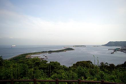成山から見た成ヶ島