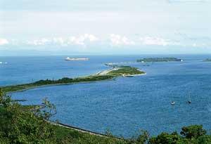 成ヶ島遠景
