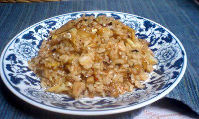 米と野菜とキムチ