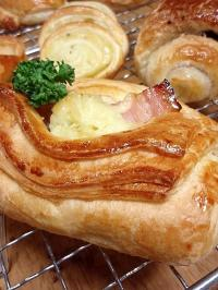 Mushed potato Danish