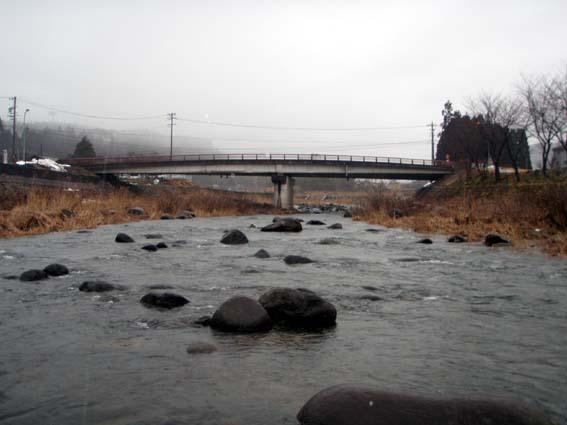 私が最初に入った保之木橋