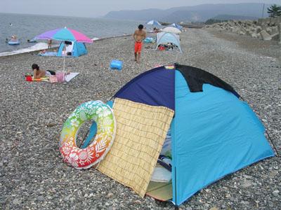 080802金七、新潟ひすい海水浴場、キトキト寿司 019