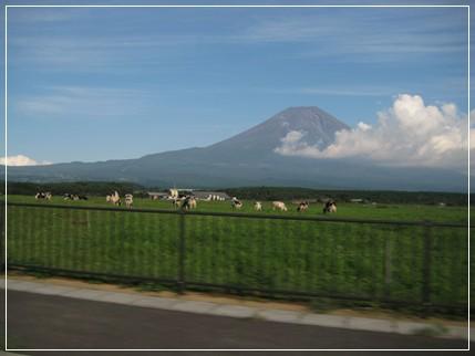 さようなら・・・富士山