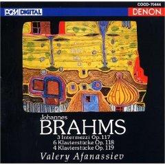 ブラームス後期ピアノ作品集