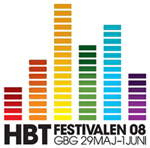 「HBT FESTIVALEN 2008」のロゴ