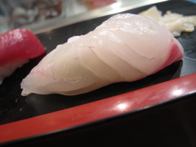 真鯛の握り3