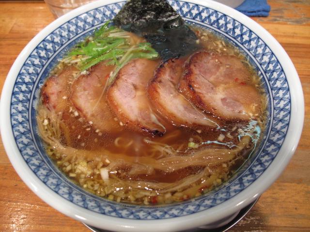 炭火炙りチャーシュー麺