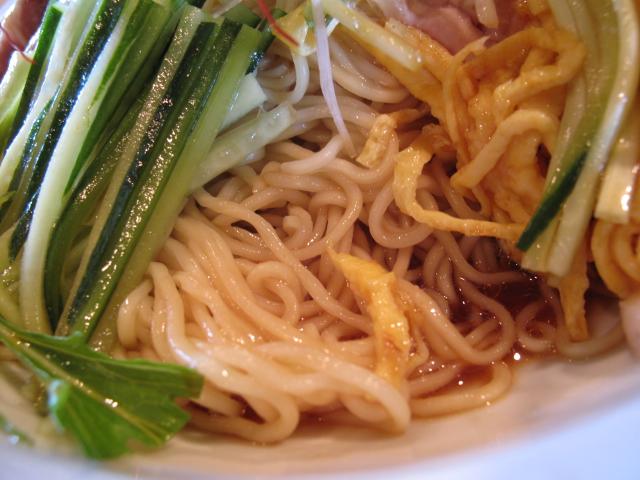 冷やし中華の麺