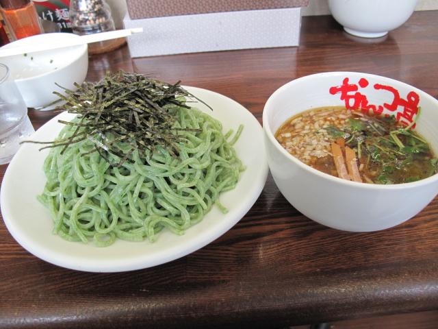 青海苔つけ麺