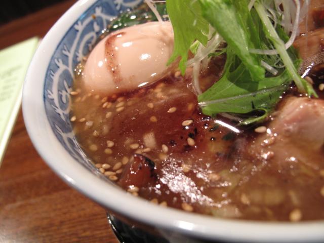 黒鶏のスープ