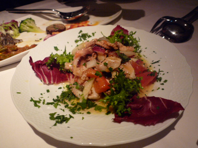 飯蛸のサラダ