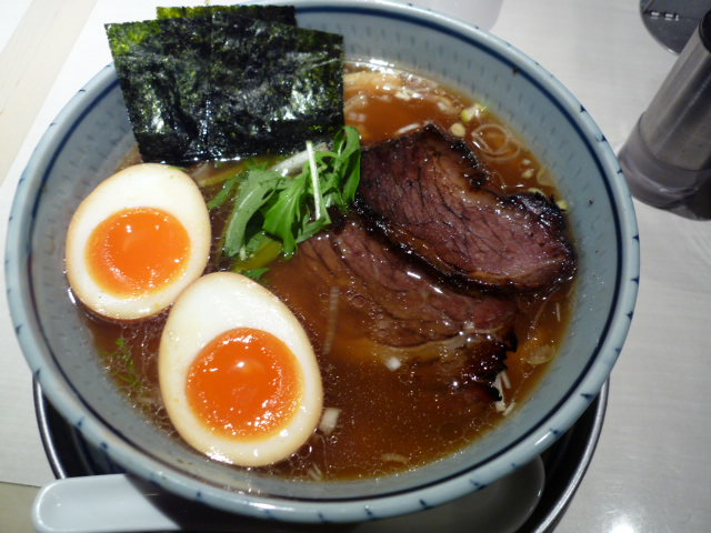 牛ばらチャーシュー麺1