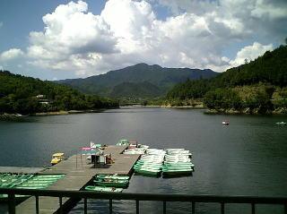 夏の津風呂湖