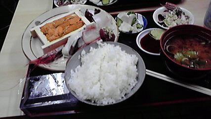 横浜市中央卸売市場 「もみじや」のおまかせ定食