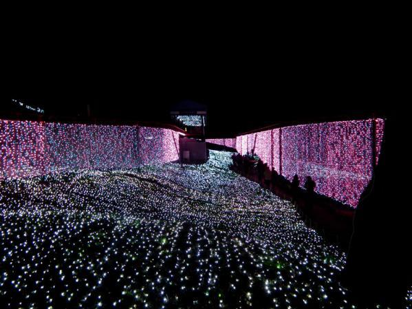 「さがみ湖イルミリオン'11-'12」 光の銀世界(1)