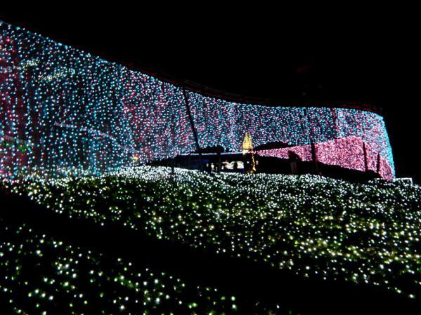 「さがみ湖イルミリオン'11-'12」 光の銀世界(2)