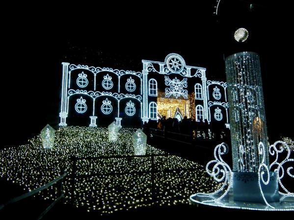 「さがみ湖イルミリオン'11-'12」 光の大聖堂(1)