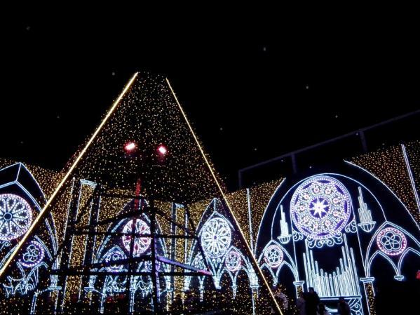 「さがみ湖イルミリオン'11-'12」 光の大聖堂(3)