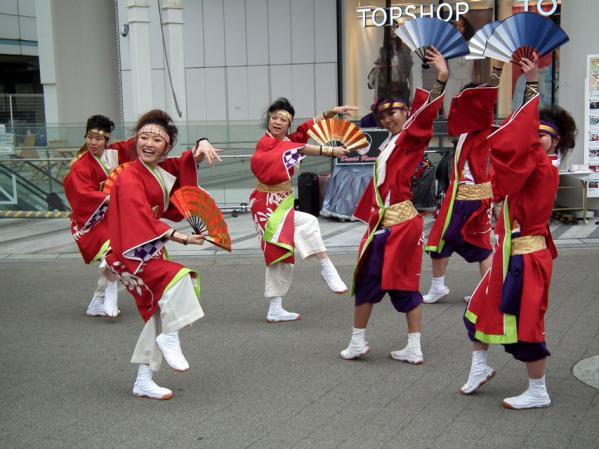 ヨコハマ大道芸「よさこい踊り」(1)