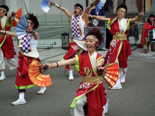 ヨコハマ大道芸「よさこい踊り」(2)